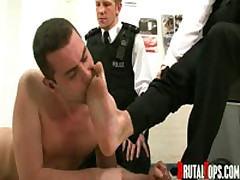 Ejaculating Cop Humiliators
