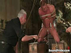 Buffed Dude Blindfolded And Bound Gay BDSM 3 By BoundPride