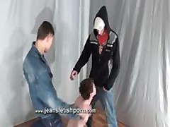 Two Gays Use And Humiliate Dude During A Live Show
