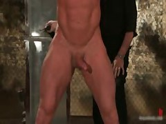 Muscled Guy Strung And Hung Gay BDSM Video 2 By BoundPride