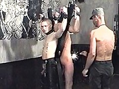 Bound Slaves Get Beaten And Tortured