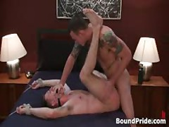 Cliff And Troy In Aroused Radical Homo Fetish Fetish Video 12 By BoundPride