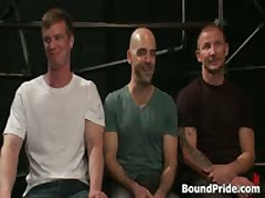 Brenn, Adam And Blake In Horny Extreme Gay Bondage S&M Fetish Threesome 1 By BoundPride