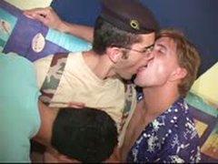 Latino Studs Threesome