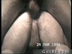 Nice Hairy Amateur Ass Fucked By Gotbf