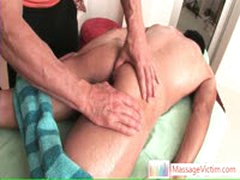 Hansome Guy Gets Fine Ass Rubbing By Massagevictim