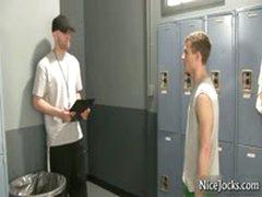Gym Teacher Checking Out Studens By Nicejocks