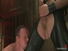 Strung And Hung And Whipped Gay BDSM 3 By BoundPride