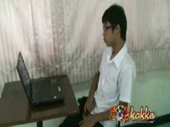 Thai Geek Caught In A Gay Menage A Trois