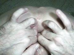 Fingering Creampie Asshole