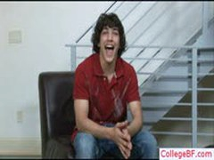 Cute College Guy Undressing By Collegebf