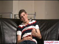 Hot College Twink Wanking His Dick By Collegebf
