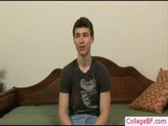 Sexy College Guy Showing His Muscular Body By Collegebf