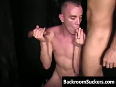 Large Rod Feast Homosexual Sucking Off Iron 3 By BackRoomSuckers