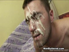 Bareback Boys Heavy Facial Jizzload