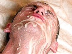 Hot Guy Earns A Big Facial Cream After Deep Bareback Fucking