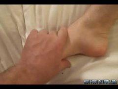 Aiden Krew Gets Feet Worshiped