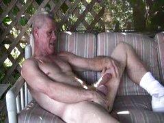 Stanley Jerking Off Outside