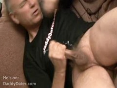 Mature Top Guy'S Intense Orgasm