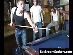 The Boys Go For A Homosexual Raunch In The 'Back Room' 1 By BackRoomSuckers