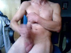 Jerking Off In My Home-Office