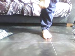 My Feet On The Floor (A Big Present For My New Feet Lovers)