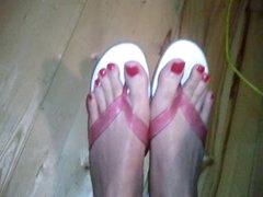 Hottest Cd Flip Flop Feet