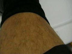 Hairy Legs And Black Socks