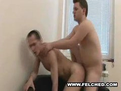 Felched The Sperm Inside The Gay Hole To His Mouth