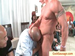 Twenty Horny Men And One Muscled Sausage By Cocksausage