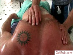 Lucky Dude Gets Amazing Massage By Gotrub