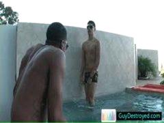 Two Horny Guys Enjoying Bath By Guydestroyed