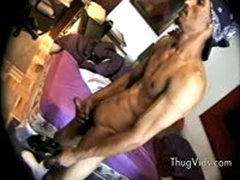 Black Guy Wanking