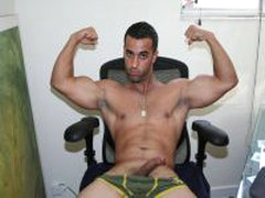 Hot Straight Latino Naked For YOU!!!