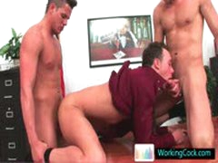 Kirk In Steamy Gay Threesome By Workingcock