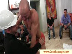 Getting His First Gay Cock By Cocksausage