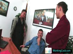 Kirk Having Hot Gay Sex Threesome By Workingcock