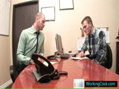 Cole Getting Ceduced By His Boss By WorkingCock