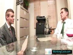 Johnatan Making A BIG Impression At Job Interview By Workingcock