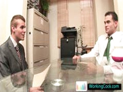 Johnatan Making A BIG Impression At Job Interview By Workingcock
