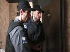 Brazilian Cops Inserting Nightsticks