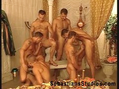 Arabian Pile Up Orgy