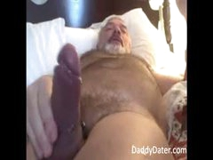 Hot  Bear Blows His Load