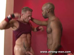 Amazing Gay Interracial