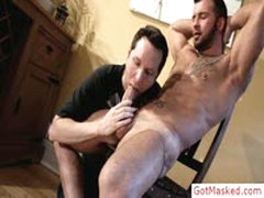 Uncut Stud Gets Great Blowjob By Gotmasked
