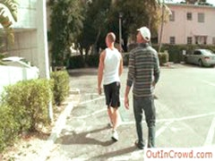 Two Guys Looking For Place To Fuck By Outincrowd