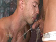 Muscle Studs Rod Daily And Parker London PISS AND FUCK!