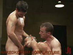 Nikko Alexander Vs Jake Austin And Cameron Adams Super Hot Oil Match
