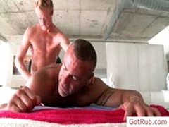 Pierced Massage Pro Getting Ass Fucked By Gotrub