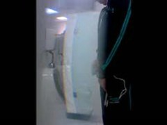 Spycam At Bathroom
